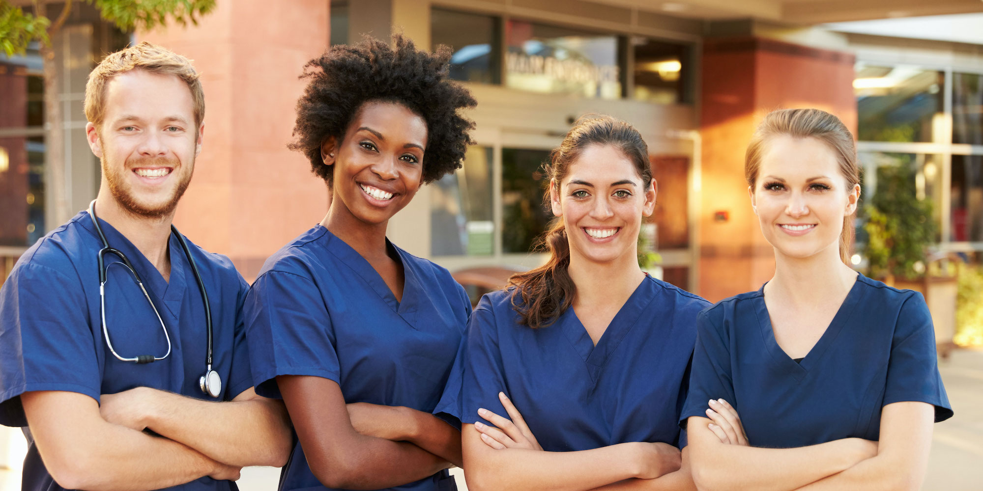 Four nurses ready to work with loved ones through Heritage OnCare